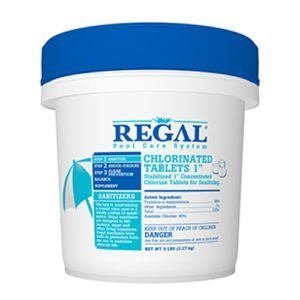 "REGAL 1"" CHLORINE TABLETS"