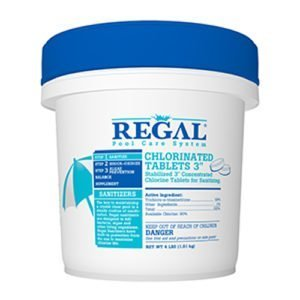 "REGAL 3"" CHLORINE TABLETS"